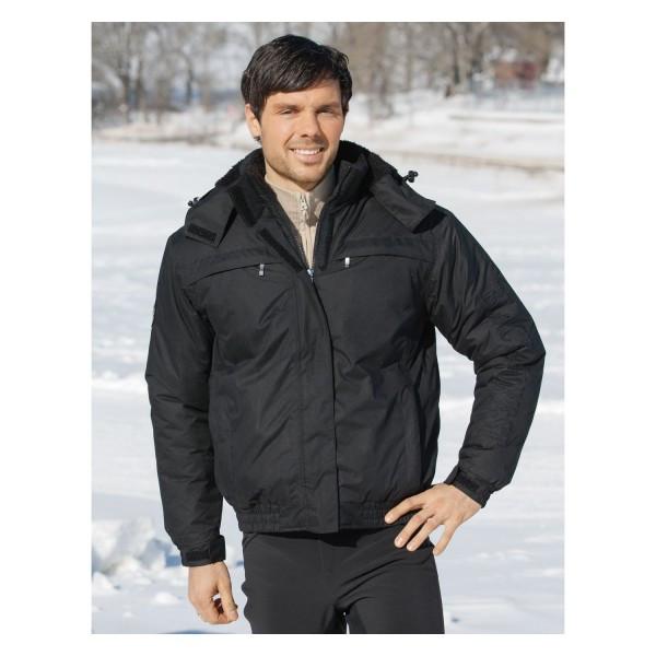 Куртка унисекс зимняя черная, Black-Forest купить в интернет магазине конной амуниции